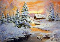 Зима художник торжествует a