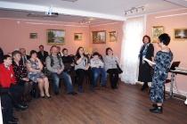 Открытие выставки к 75-летию А. Ф. Митникова