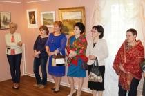 Открытие выставки к 85-летию И. М. Асташкина_9 июня 2017