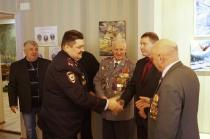 Выставка сотрудниц полиции