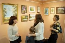 Открытие выставки преподавателей Некрасовской ДХШ им. Асташкина
